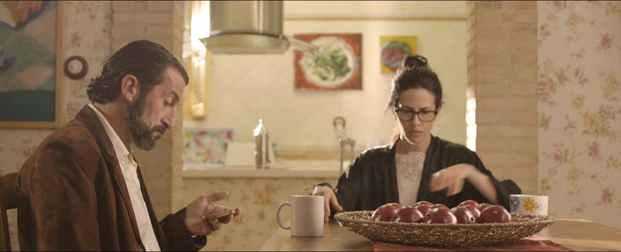 Camila Bossa y Luis Zahera en Amateur