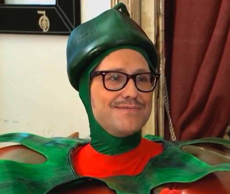 Joaquín Reyes en Dos Tomates y Dos Destinos