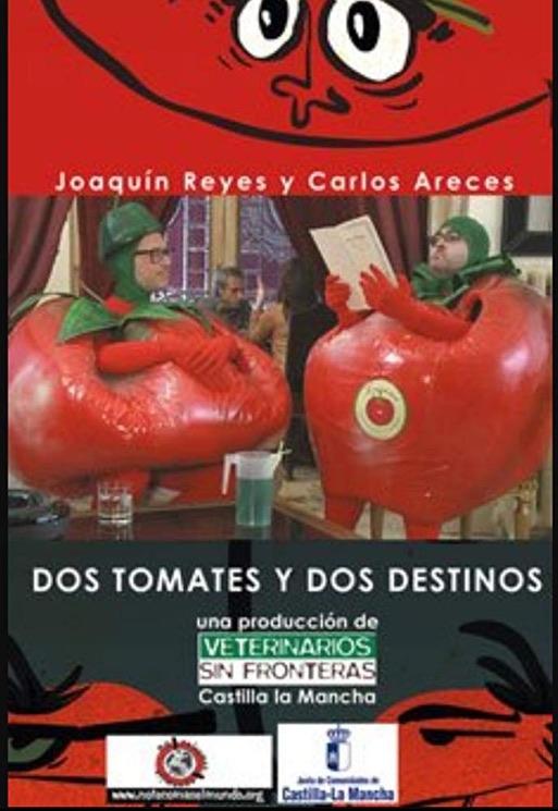 Cartel Dos Tomates y dos Destinos